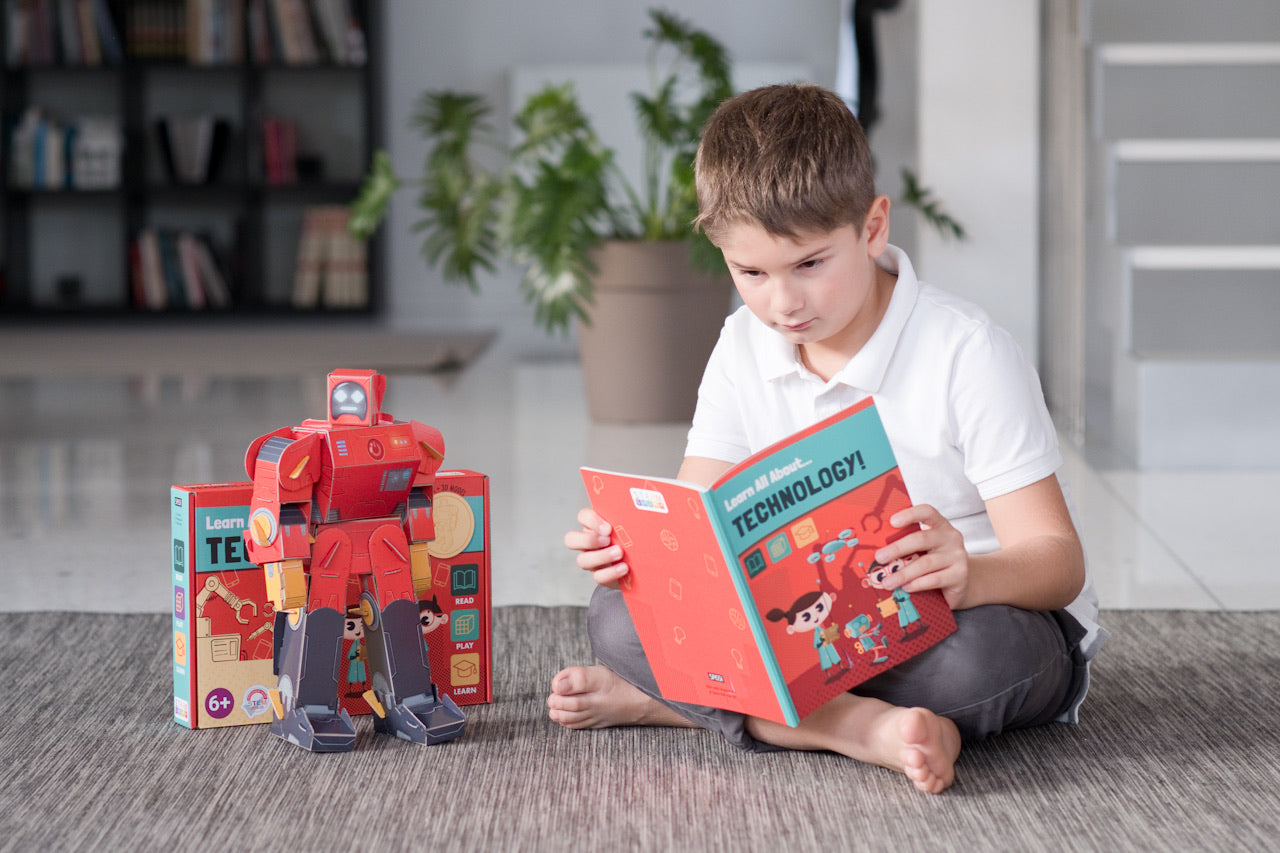 Sassi Book and Model Set - Learn all about Technology - The Little Interior