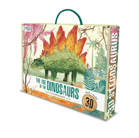 3D Assemble & Book Age of Dinosaurs - Stegosaurus - The Little Interior