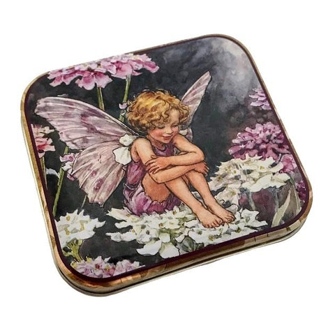 Flower Fairy Square Tin - Candy Tuft