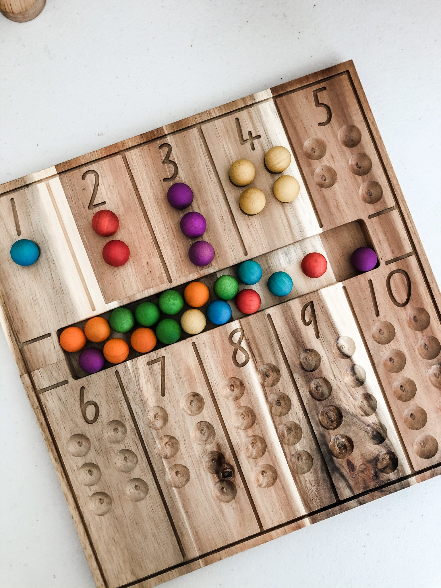 Natural Counting Board - The Little Interior
