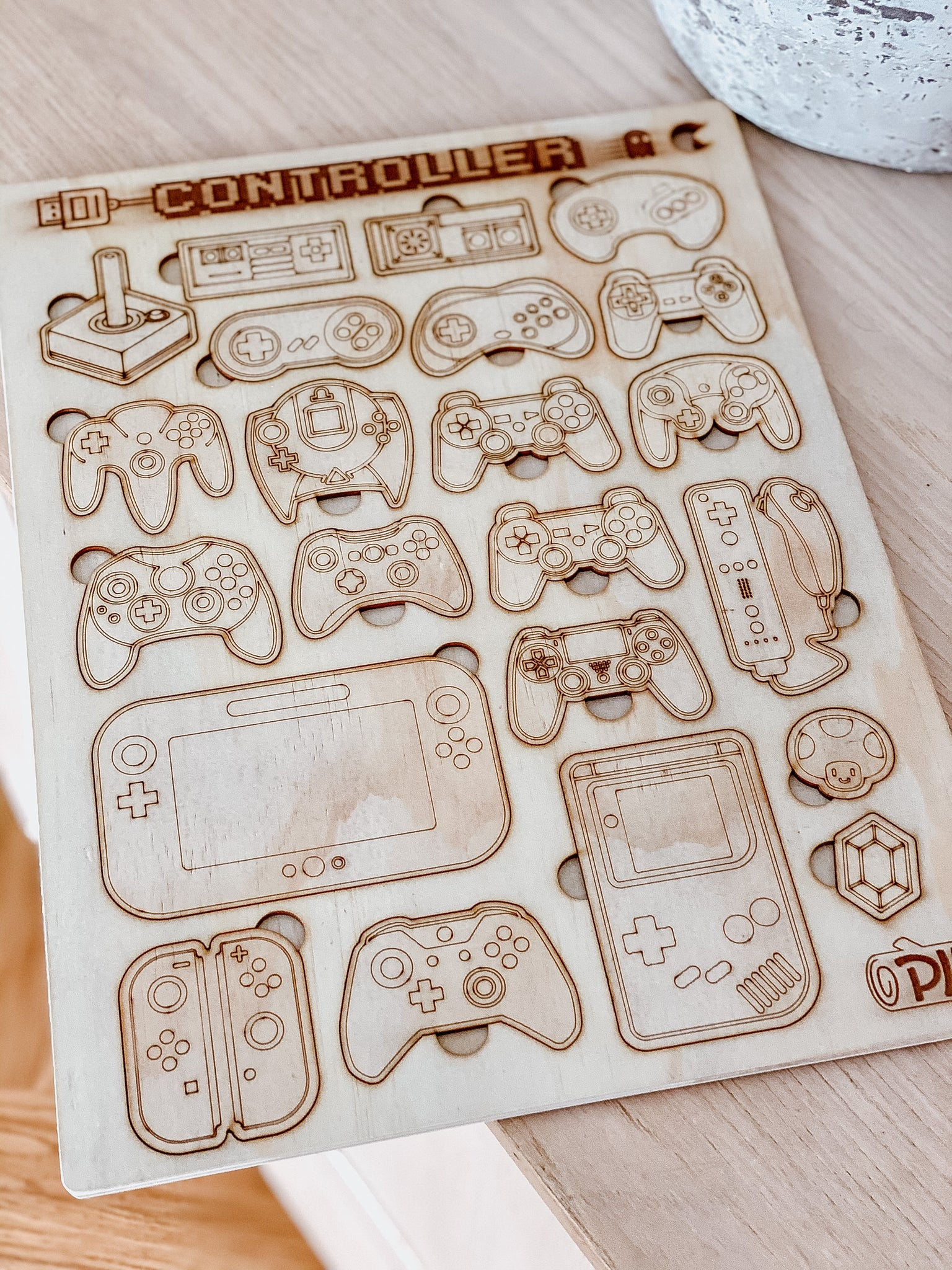 Video Game Controller Puzzle