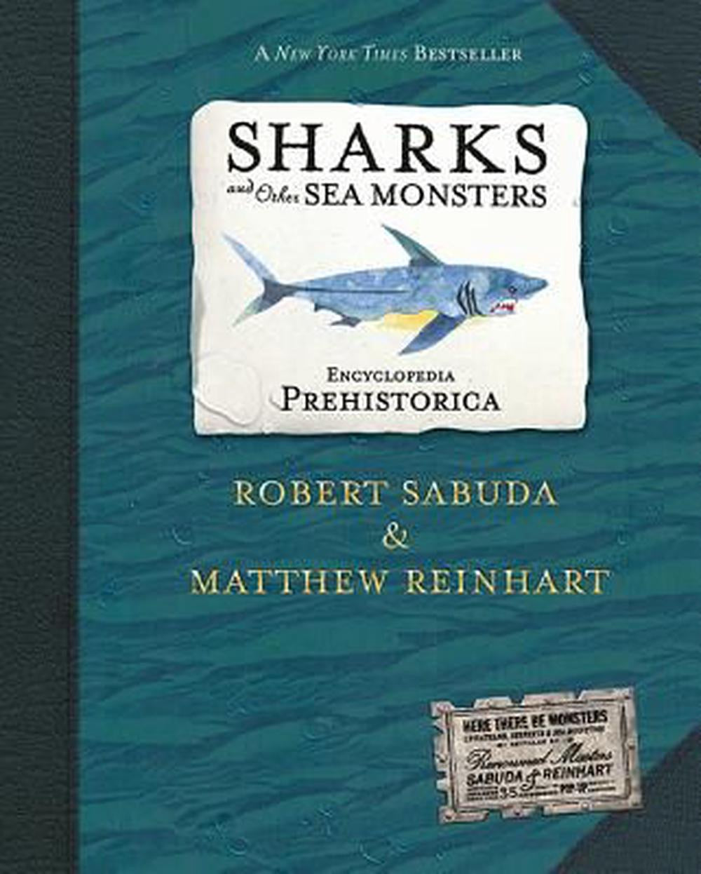 Prehistorica Encyclopedia Pop Up - Shark and other Sea Monsters