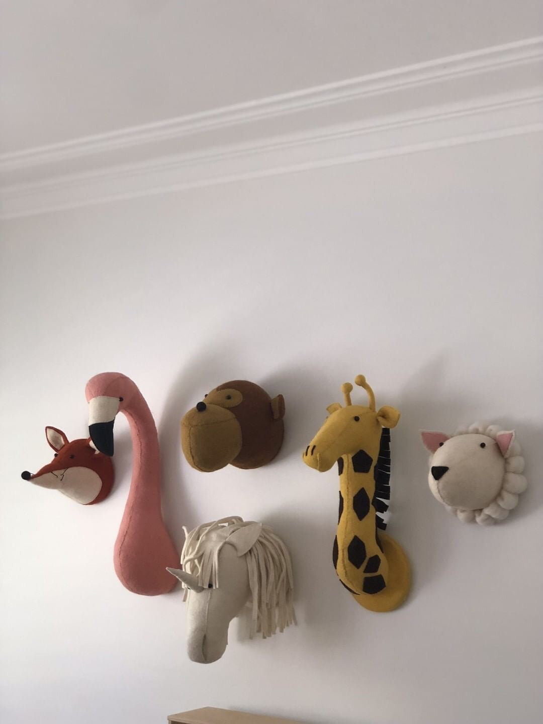 Fiona Walker Flamingo Animal Head - The Little Interior