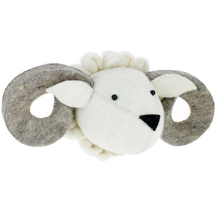 Fiona Walker Ram Animal Head - The Little Interior