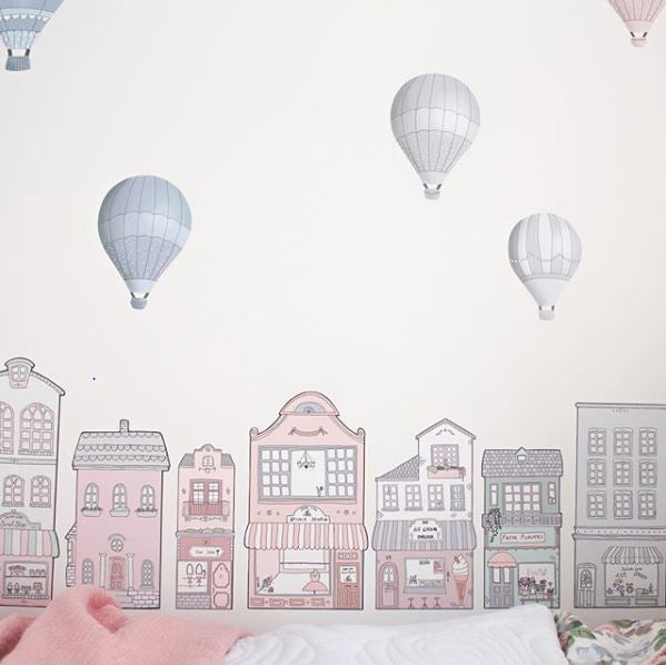 Little Sailah Lane Wall Stickers - Blush Set - The Little Interior
