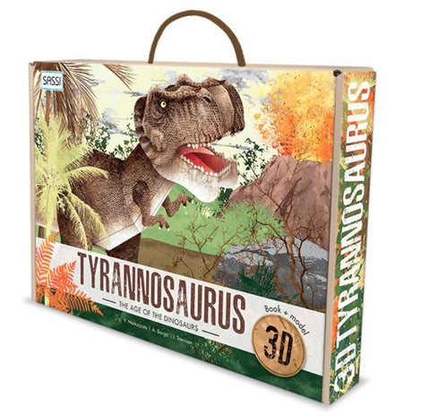 3D Assemble & Book Age of Dinosaurs -Tyrannosaurus - The Little Interior