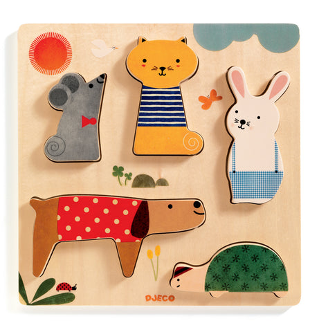 Woodypets Wooden Puzzle