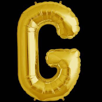 Gold Letter G Foil Balloon