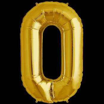 Gold Letter O Foil Balloon