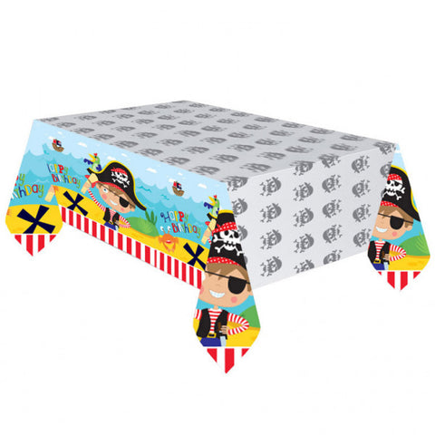 Little Pirate Plastic Table Cover