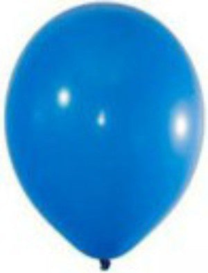 Bright Royal Blue Latex Balloon