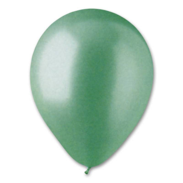Pearl Aqua Latex Balloon