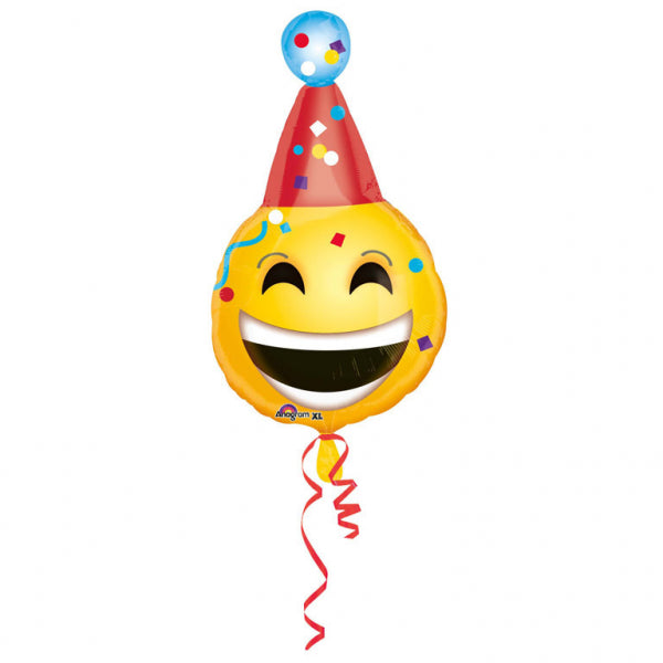 Birthday Emoticon Foil Balloon