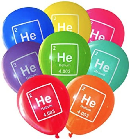 "Helium of a 11""/12"" Latex Balloon"