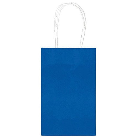 Royal Blue Paper Party Bags, 10pcs