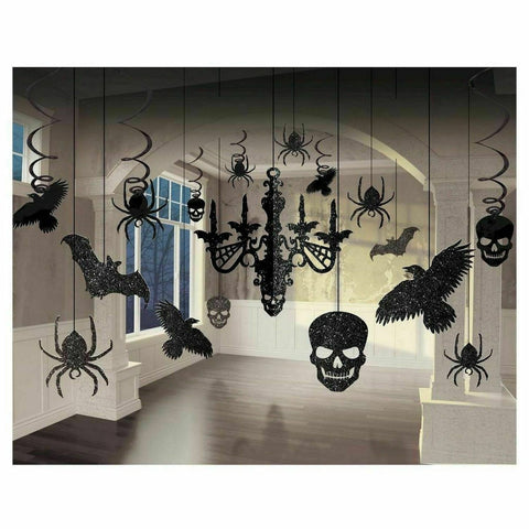 Halloween Chandelier Deco Kit, 17ct