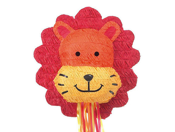 Lion Head Pull Pinata