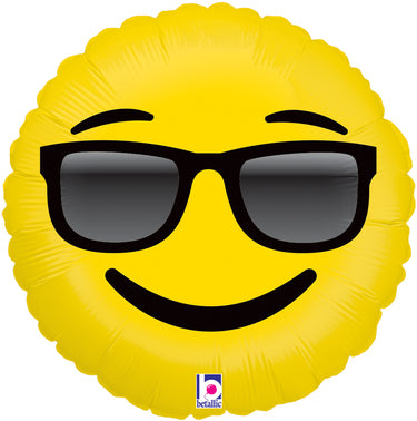 Emoji Sunglasses Foil Balloon