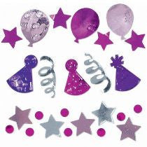 Pink Celebration Foil Confetti Pack