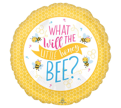 What Will The Little Honey Bee Baby Balloon
