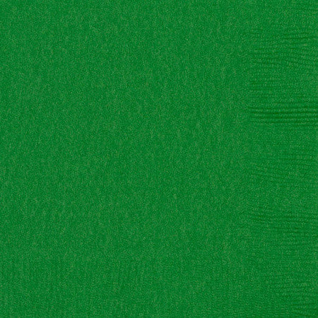 3 Ply Green Lunch Napkins 20pcs