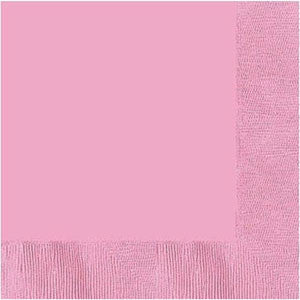 3 Ply Pink Lunch Napkins 20pcs