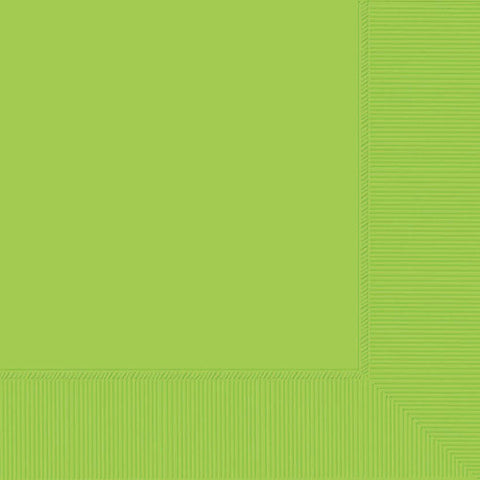 3 Ply Light Green Lunch Napkins 20pcs