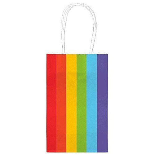 Rainbow Paper Party Bags, 10pcs