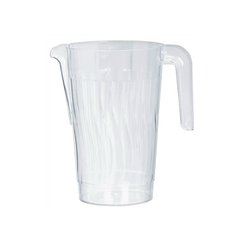 Transparent Plastic Pitcher