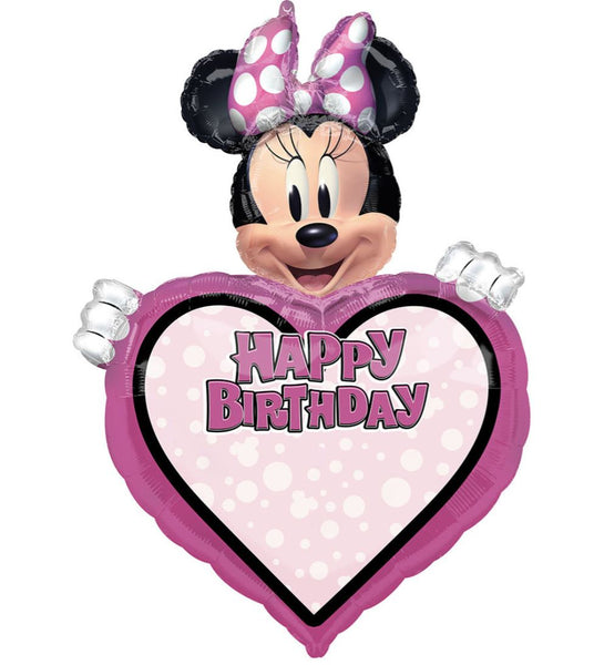 Minnie Mouse Personalisable Foil Balloon