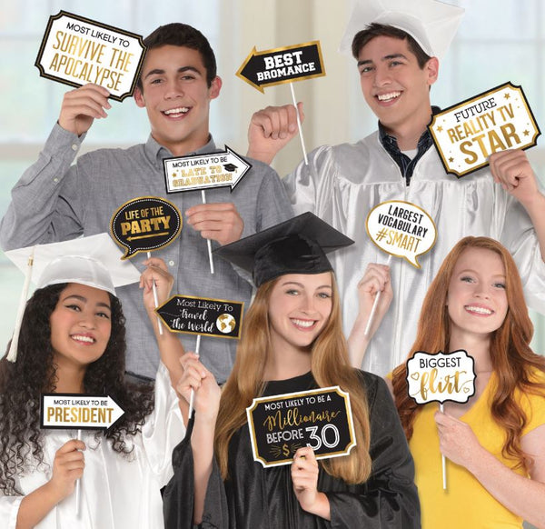 Graduation Photo Props, 13pcs