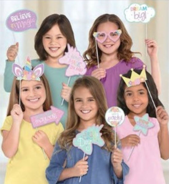 Unicorn Party Photo Props