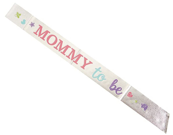 Mommy to Be Foil Sash