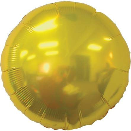 Metallic Gold Round Foil Balloon