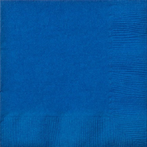 3 Ply Blue Lunch Napkins 20pcs