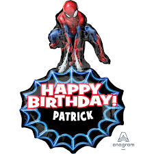 Spider Man Personalised Foil Balloon