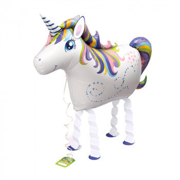 Airwalker Unicorn Foil Balloon