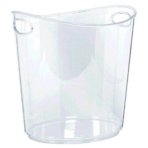 Transparent Plastic Ice Bucket