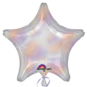 Iridescent Star Foil Balloon