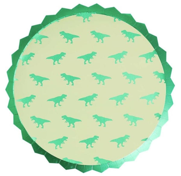 Dinosaur Roarsome Luncheon Plate