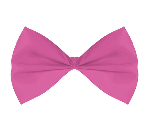 Fabric Bow Tie - Pink