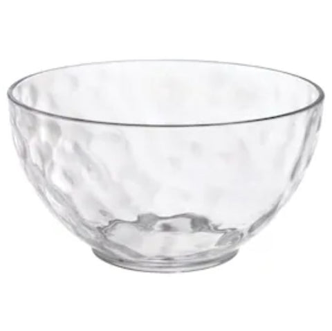 Hammered Texture Small Serving Bowl, 3ct