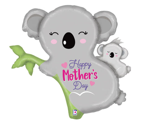 Happy Mother's Day Koala Bear Foil Balloon