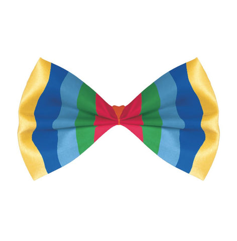 Fabric Bow Tie - Rainbow