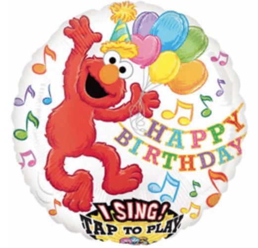 Sing-A-Tune Elmo Foil Balloon