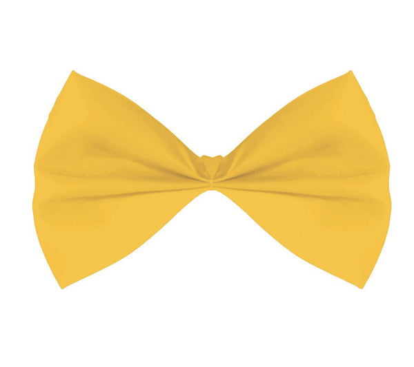 Fabric Bow Tie - Yellow