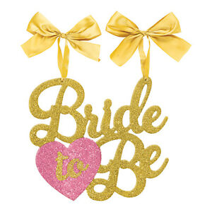 Bride To Be Glitter Chair Sign