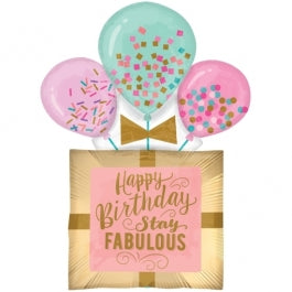 Fabulous Birthday Gift Foil Balloon