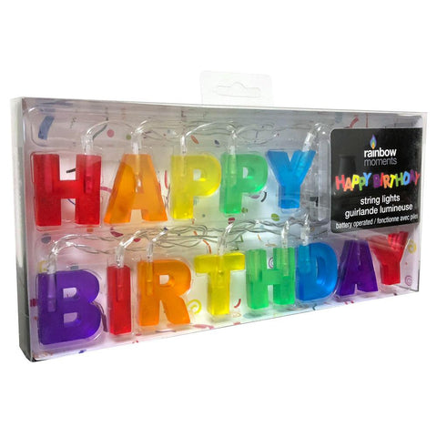 Happy Birthday Led String Lights