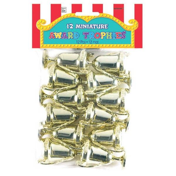 Mini Award Trophies, 12 Pcs